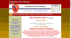 Preview of charlestonfire.net