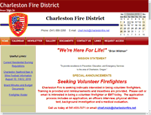 Tablet Preview of charlestonfire.net